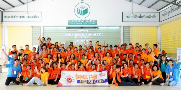 "Super Fun English Camp ""English and history camp"""