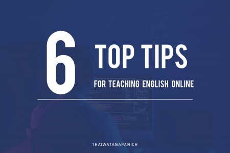 6 top tips for teaching English online