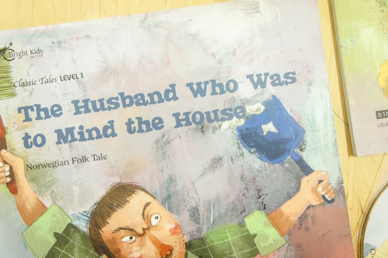 CLASSIC TALES LEVEL 1 : The Husband Who was to Mind the House + Audio CD