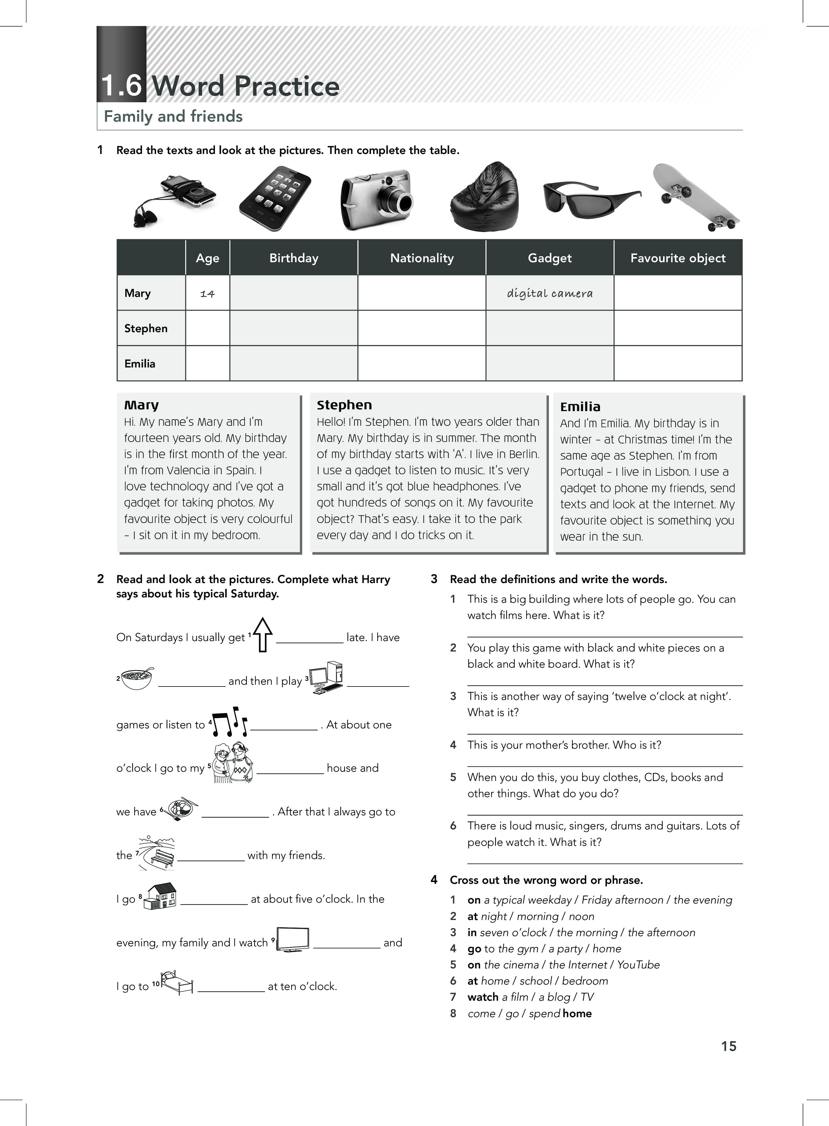 FOCUS WorkBook 1